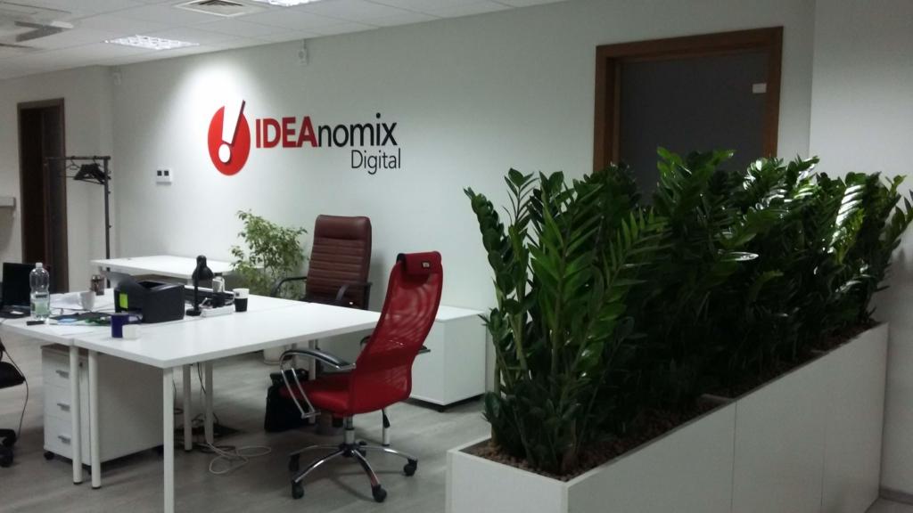 озеленение офиса IdeaNomix