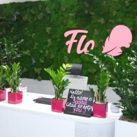 озеленяем офис Flo
